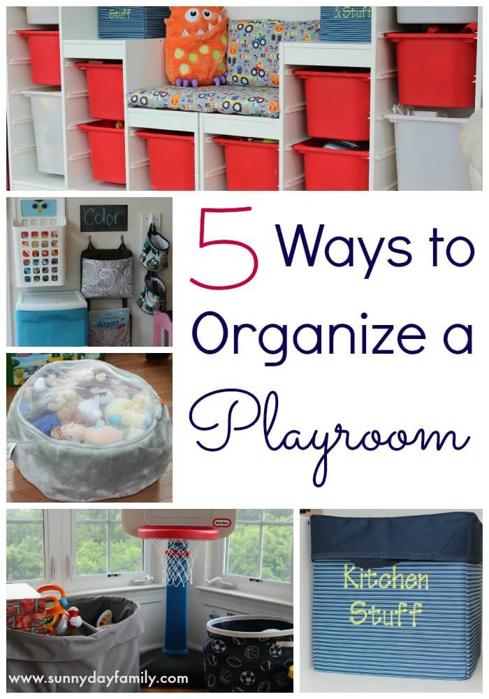How to Organize a Playroom in 5 Easy Steps