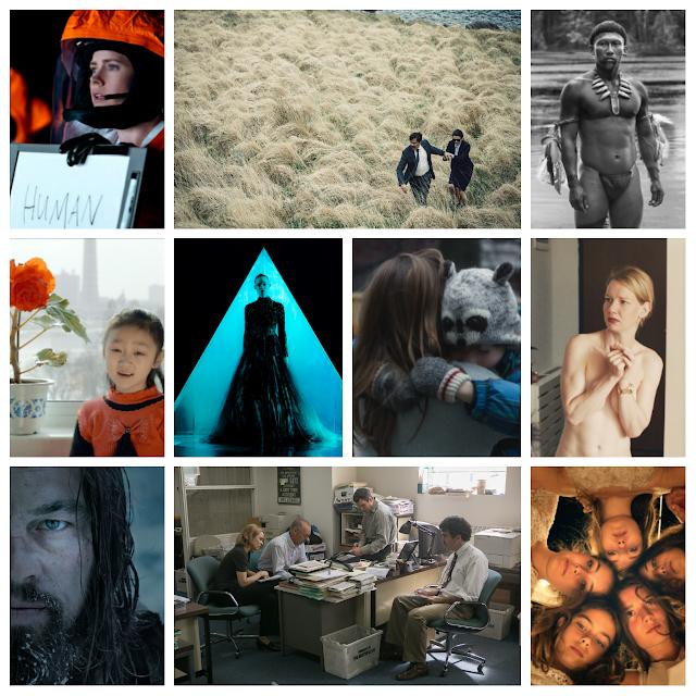 Alle Favoritenfilme aus dem Jahr 2016