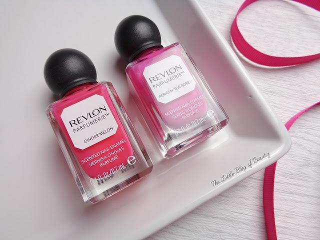 Revlon Parfumerie nail varnishes