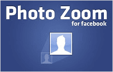 Photo Zoom for Facebook extension for Google Chrome