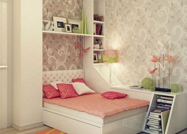 Salah Satu Area Dinding Yang Sering Dipakai Untuk Memasang Wallpaper Yaitu R Tidur Tapi Bagaimana Memilih Sempit