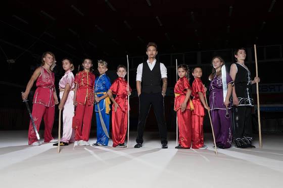Българският младежки отбор по Ушу