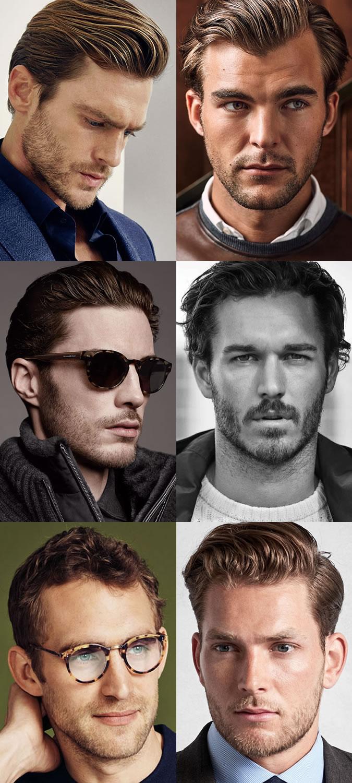 Barbas curtas dos homens & Restolho Cabelo pra trás Calitta Blog