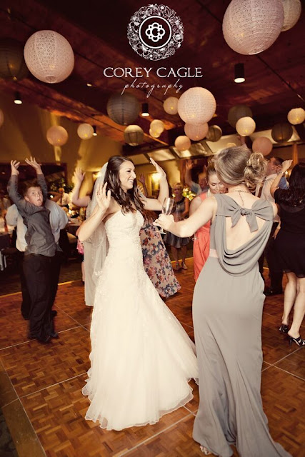 wedding reception dance | Corey Cagle Photography