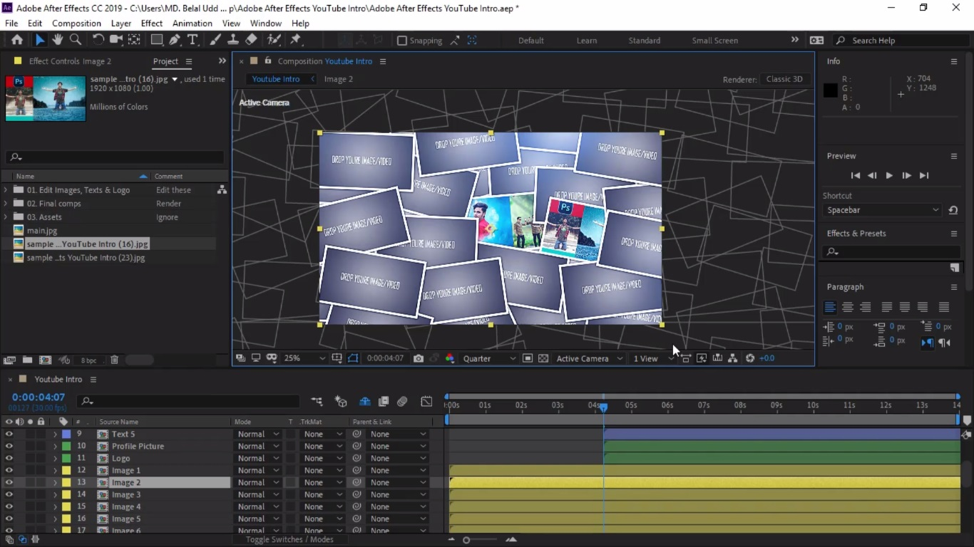 Top 10 Free After Effects Intro Templates -   Latest ...