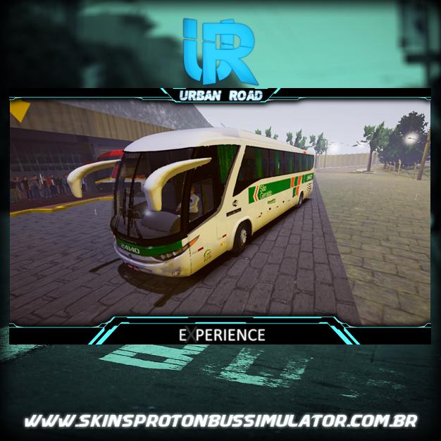 Skin Proton Bus Simulator Road - G7 1200 MB O-500 RS Viação São Geraldo
