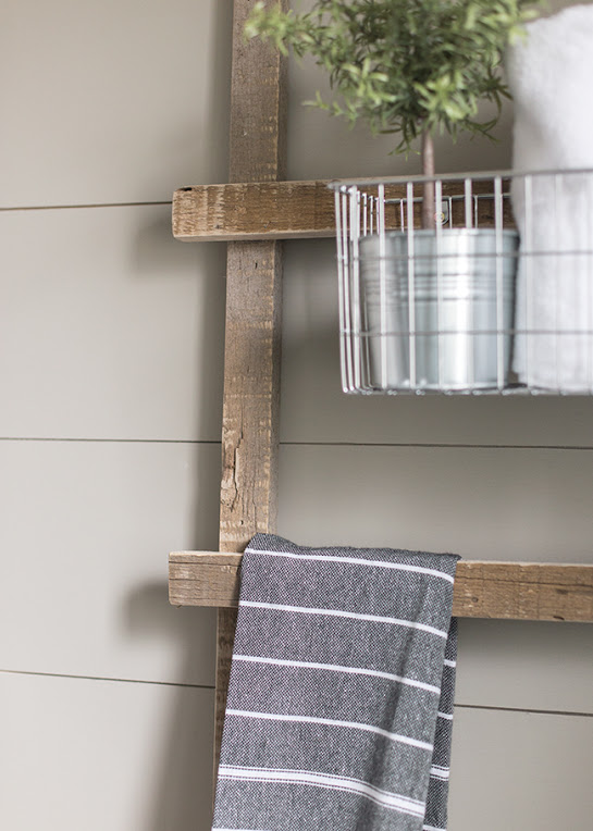 DIY farmhouse ladder, diy ladder, farmhouse, diy