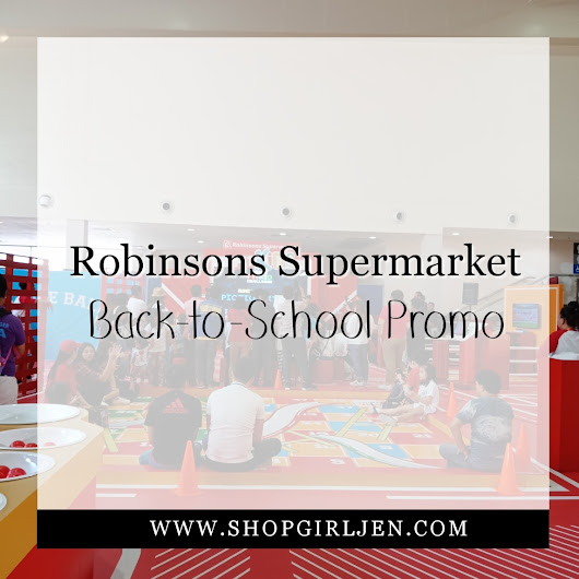 ROBINSONS SUPERMARKET LAUNCHES THE FIT KIDS: BACK-TO-SCHOOL PROMO