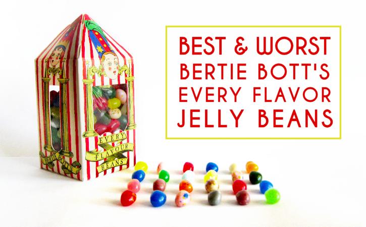 Bertie Bott's Every Flavor Beans.