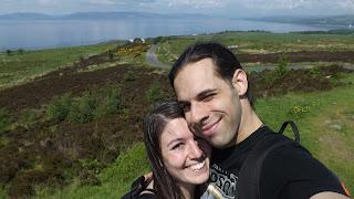 Az Isle of Cumbrae legmagasabb pontja