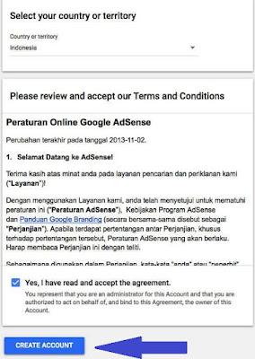 Peraturan Google Adsense