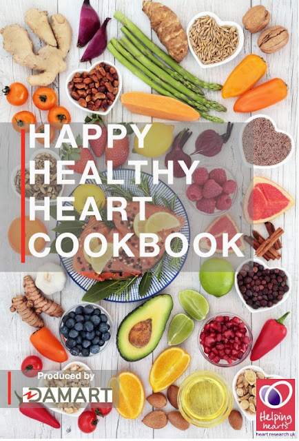 Happy Healthy Heart Cookbook Heart Research UK