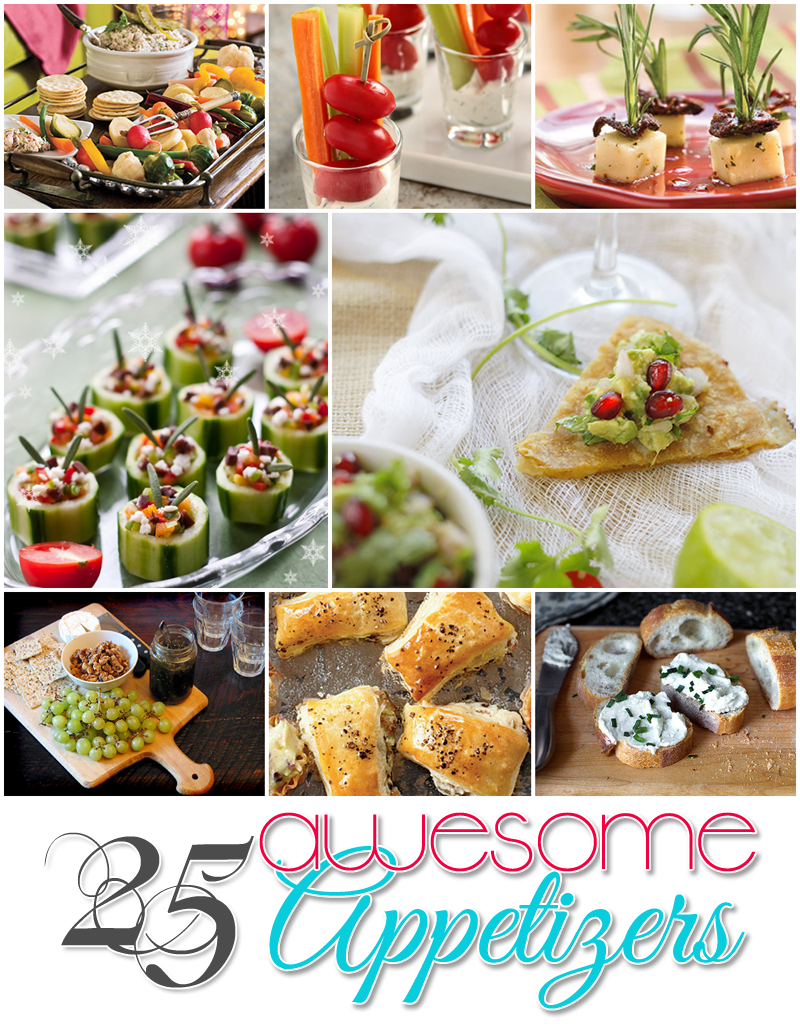 25 Delicious Party Appetizers