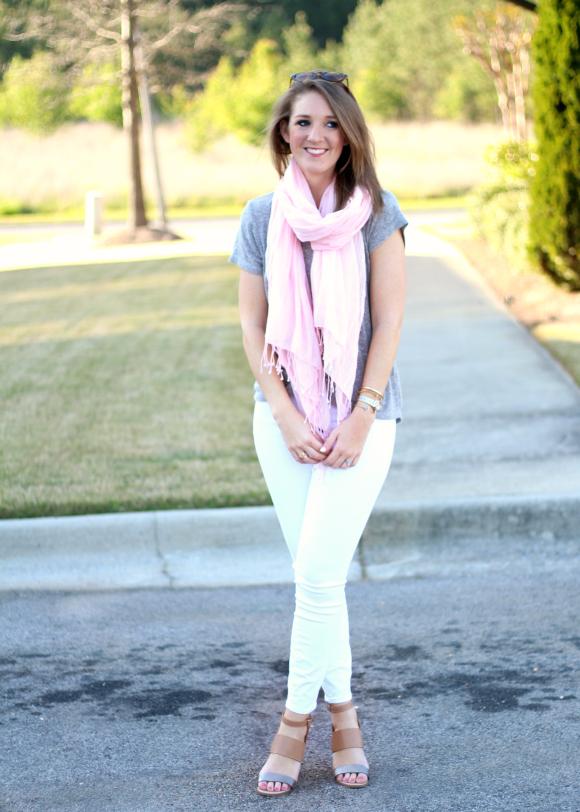 Spring White Jeans