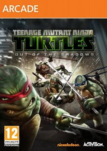 Teenage Mutant Ninja Turtles Out Of The Shadows XBLA Xbox 360