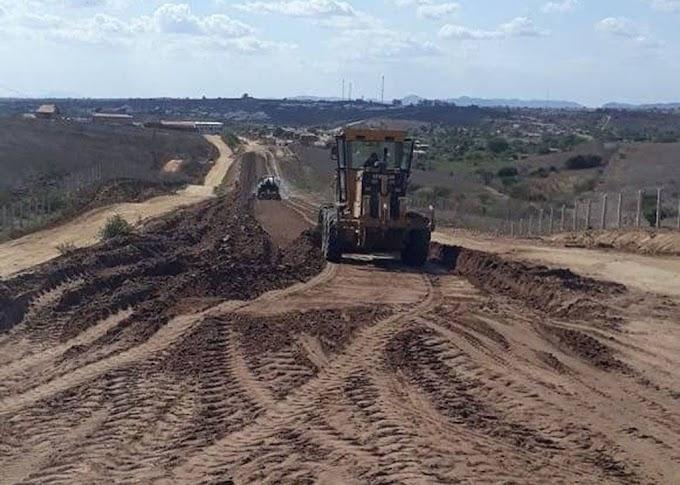 ITABAIANA: Governo da Paraíba investe mais de R$ 43 milhões em obras rodoviárias estaduais.