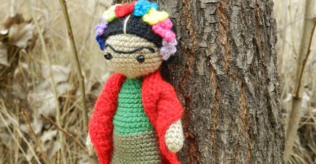 Amigurumis De Frida Kahlo : Amigurumi frida kahlo u amigurumi duende de los hilos