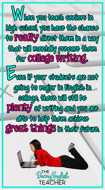 How to Get Your Students Prepared for Writing in College