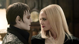 Johnny Depp Eva Green Dark Shadows 2012
