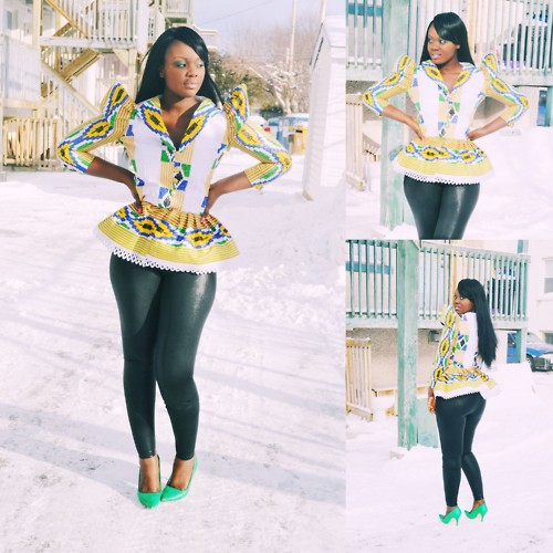 Top Listed And Sexy Ankara Jackets Style And Top For Occations