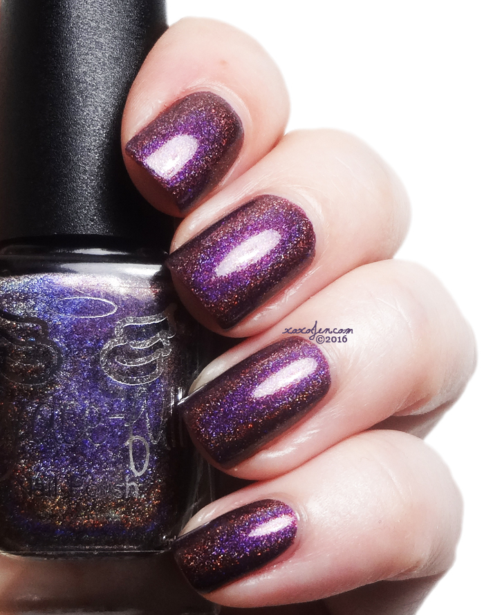 xoxoJen's swatch of Grace-full Mulberry Velvet