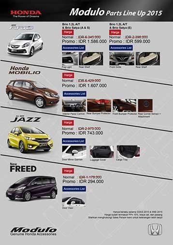 Jual Aksesoris Honda Bandung