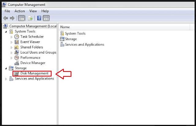 cara partisi hardisk di windows 7 tanpa menggunakan software