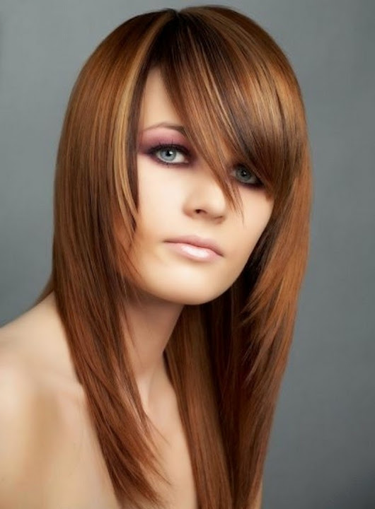 easy hairstyles with bangs hairstyles 2014