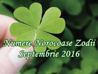 Numere Norocoase Zodii Septembrie 2016 Berbec Pesti