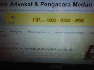 HP/WA +6281397303456 Kontak Kantor Hukum Advokat dan Pengacara Indonesia - Law Office Para Lawyer Terkenal di Kota Medan
