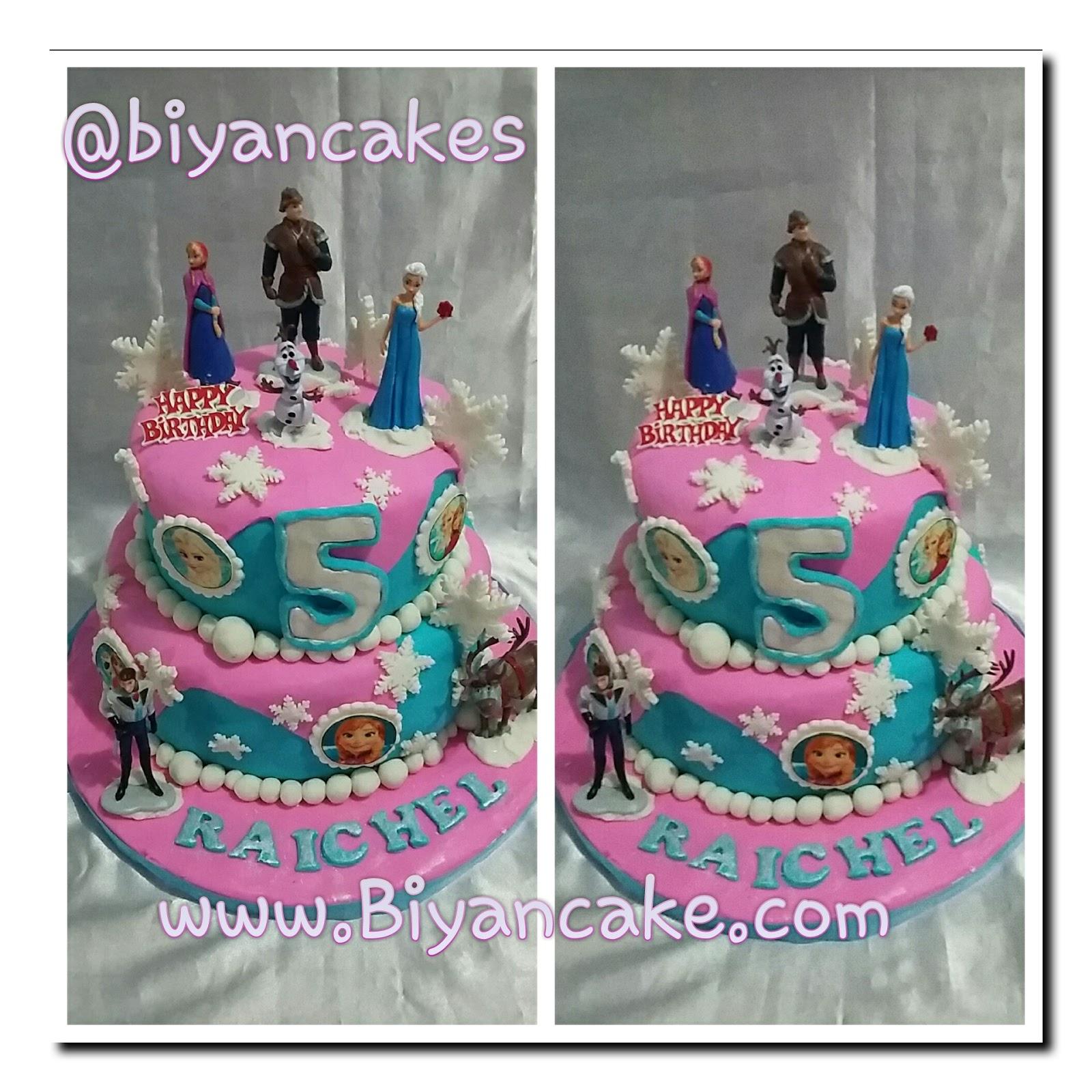Cake frozen ~ Rachel