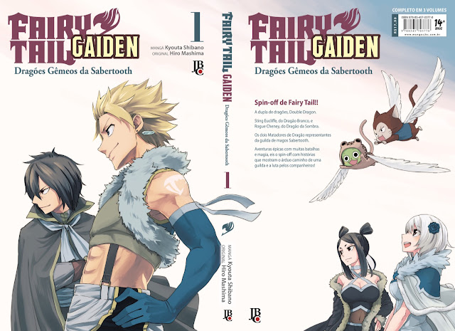 [Mangá] Fairy Tail Gaiden - Os Dragões Gêmeos da Sabertooth