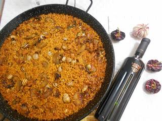 receta-de-arroz-con-magra-alcachofas-y-caracoles