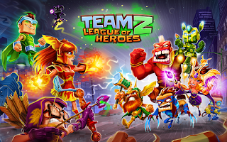 Team Z – League of Heroes Mod Apk v1.05 (Unlimited Diamonds)