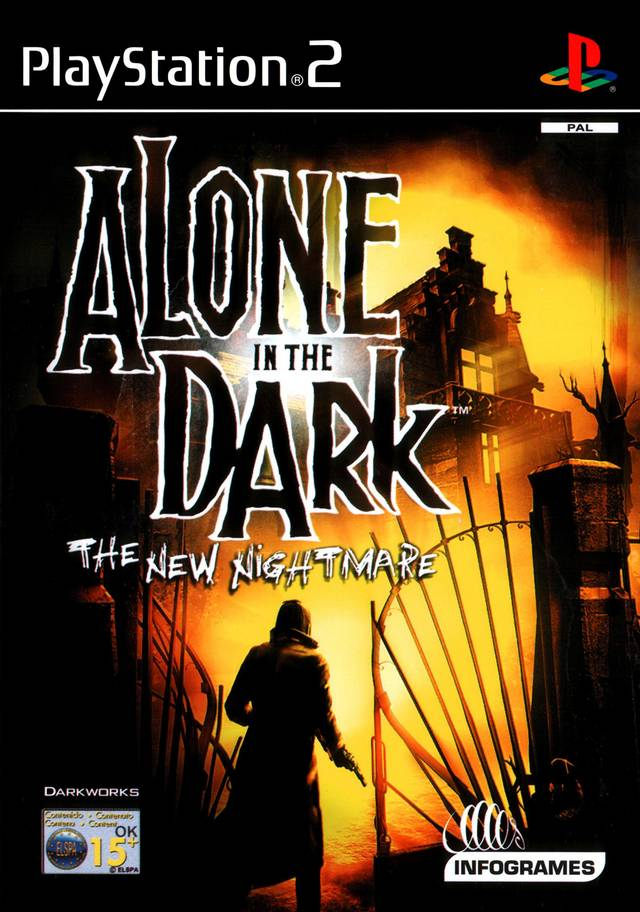 Alone in the Dark: The New Nightmare PAL PS2