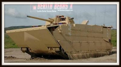 7 senjata perang super mahal, Berita Bebas, tak disangka, Teknologi, amfibi perang penjelajah