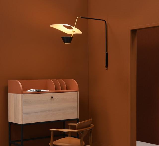 G25 wall lamp , Pierre Guariche design, Sammode Studio reissue.