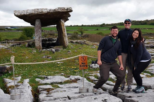 Ireland Tomb The Burren Galway