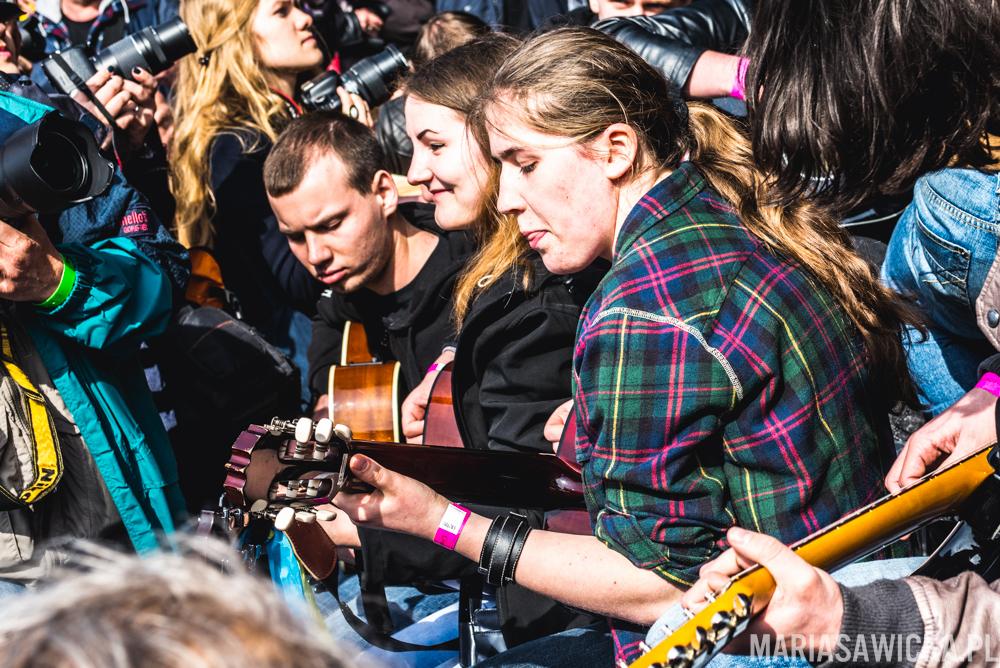 Thanks Jimi Festival - Gitarowy Rekord Guinessa 2015 Wrocław