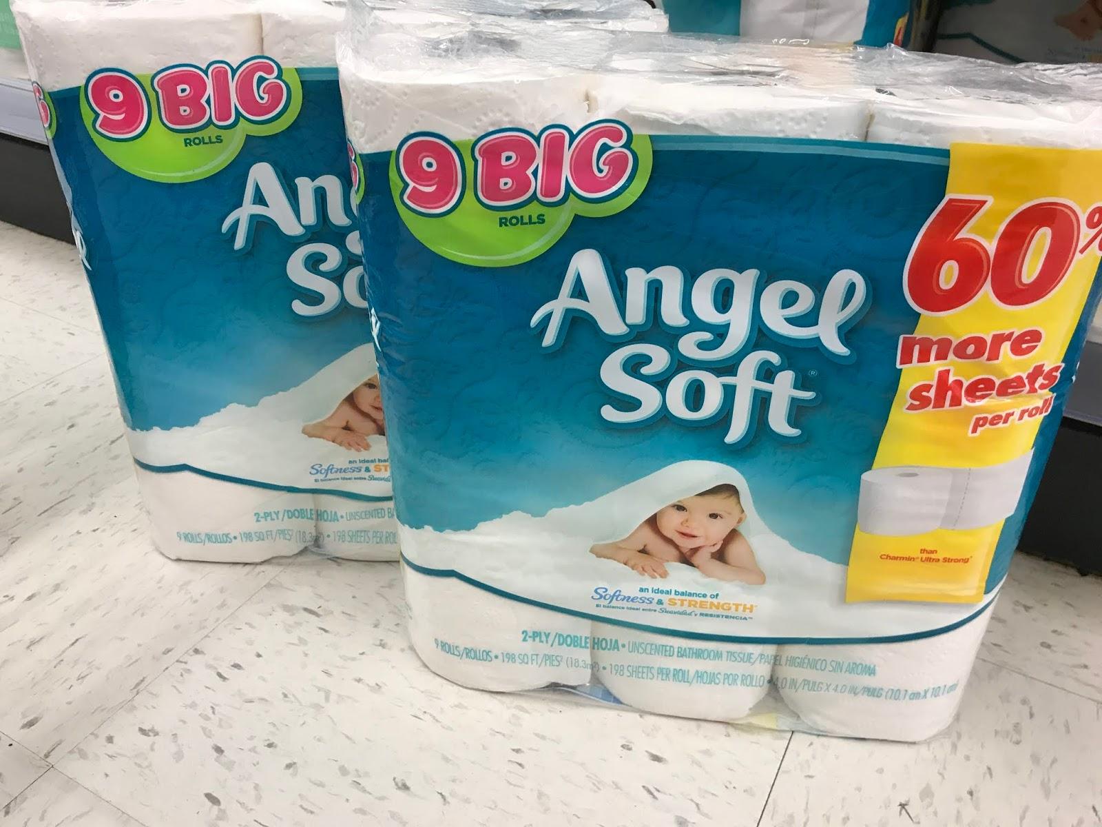 Walgreens 2 49 Angel Soft Toilet Paper Comes Back Again
