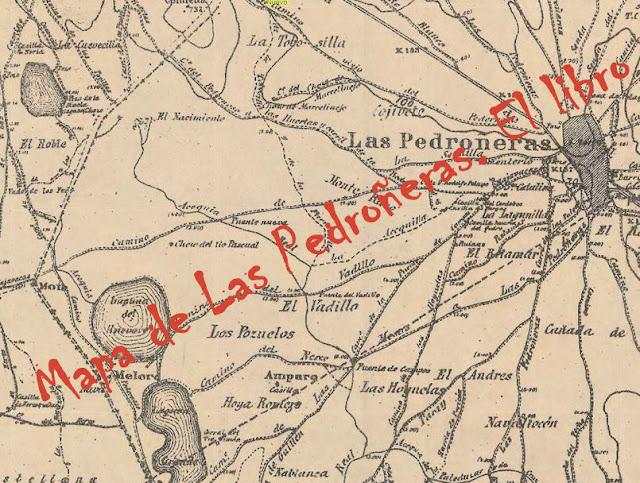 Resultado de imagen de las pedroñeras mapa