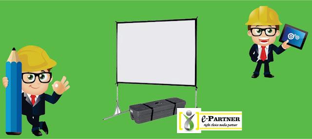 tempat sewa giant screen proyektor
