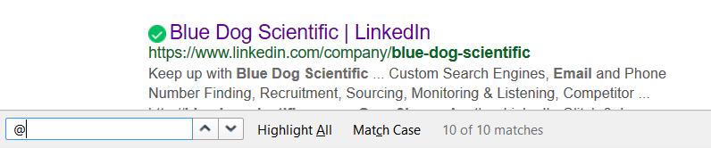The Blue Dog Scientific Blog
