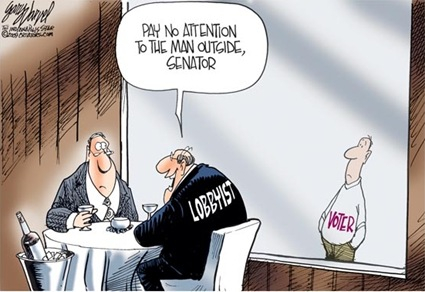 Lobbyist cartoon
