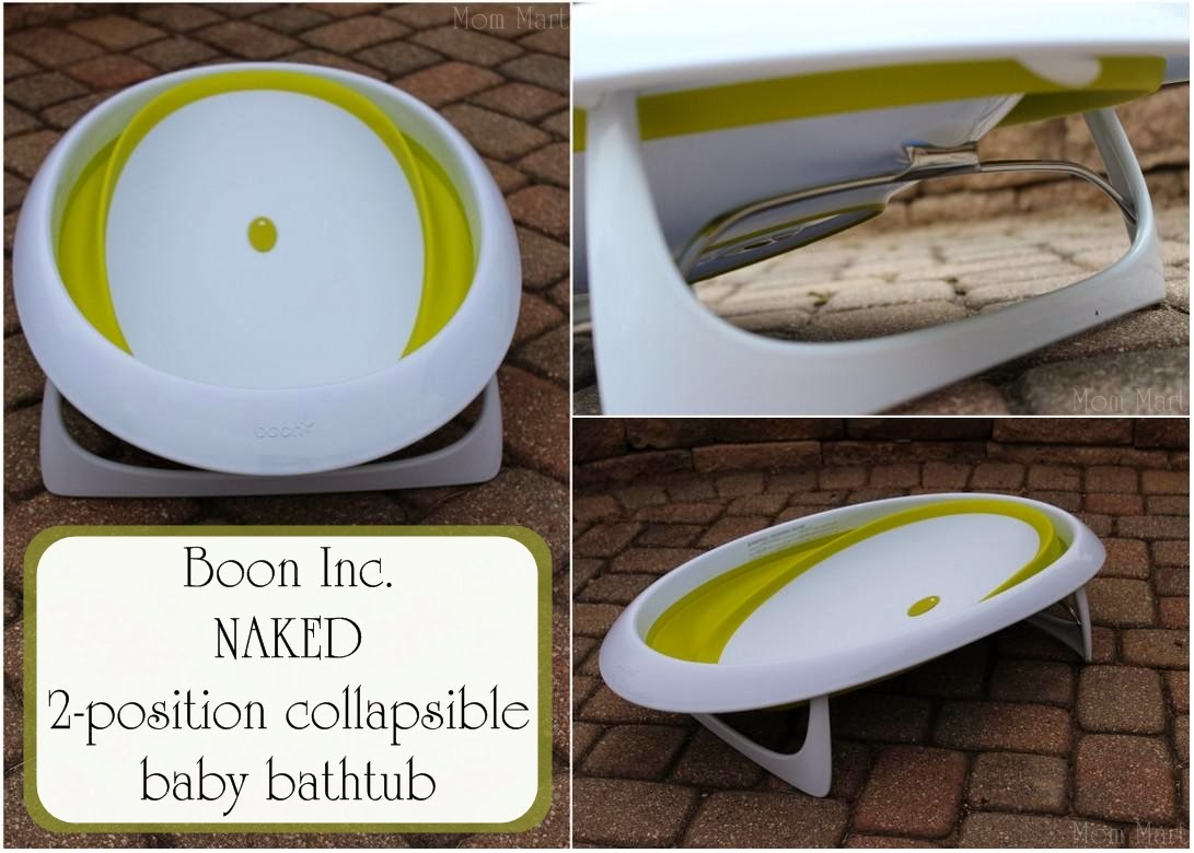 Mom Mart Tips For Bathing Baby Boon Naked Bath Tub Review