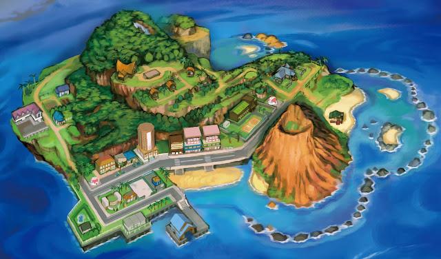 Pokémon Sol/Luna podría albergar gimnasios ocultos a causa de huecos en el mapa