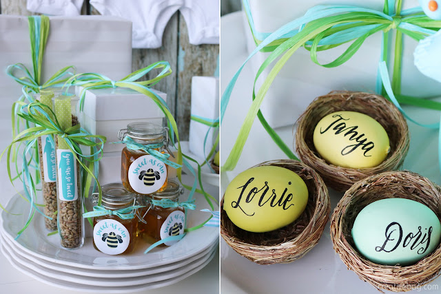birds and bees gender neutral baby shower | Creative Bag