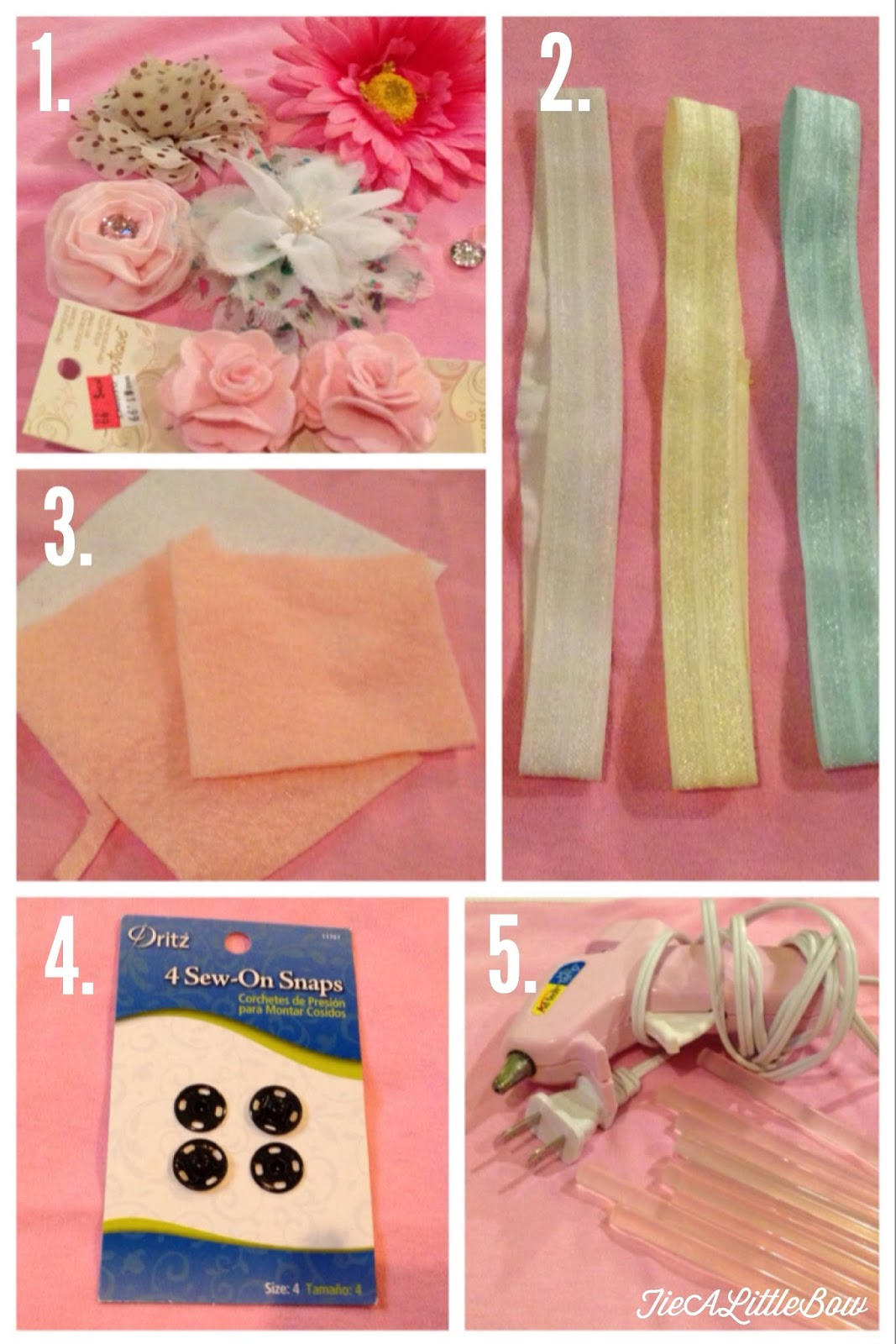 Tie A Little Bow Easy Diy Headbands For Baby