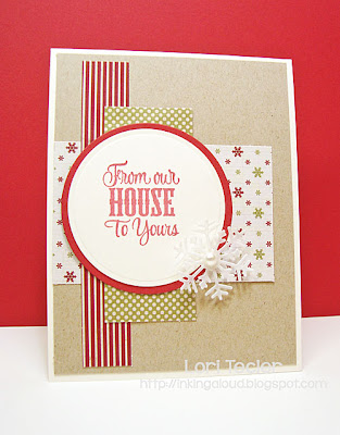 From Our House to Yours card-designed by Lori Tecler/Inking Aloud-stamps from Verve Stamps