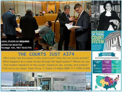 The Courts (JUST 374) flyer
